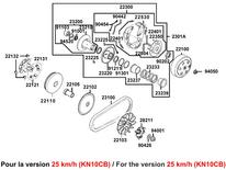 VARIATEUR EMBRAYAGE (KN10CB)