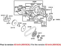 VARIATEUR EMBRAYAGE (KN10CA)